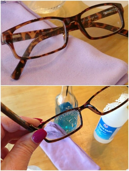 Homemade Eyeglass Cleaner And Defogger