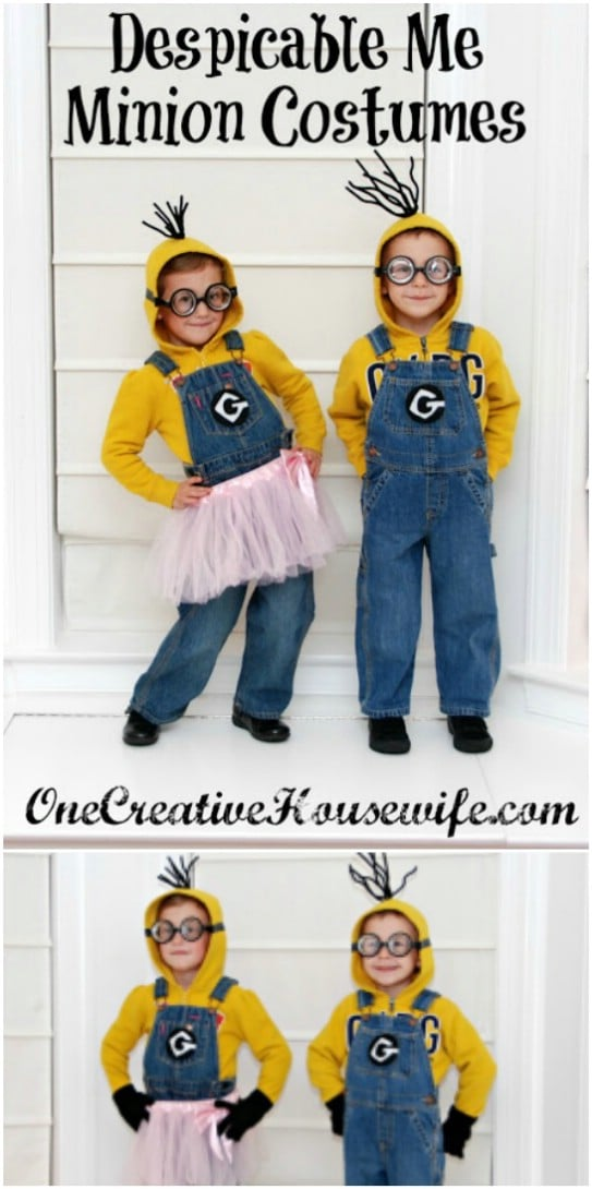 DIY Despicable Me Costumes
