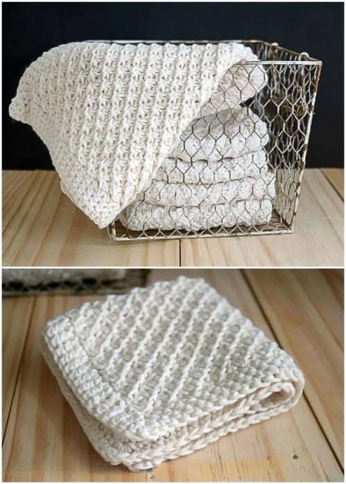 Hand Knit Washcloths