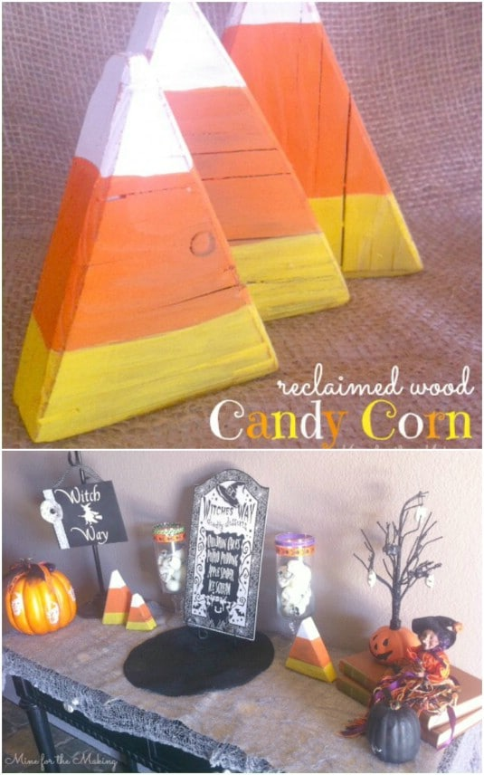 25 Fantastic Reclaimed Wood Halloween Decorations For Your