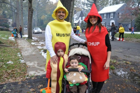 DIY Fast Food And Condiment Costumes