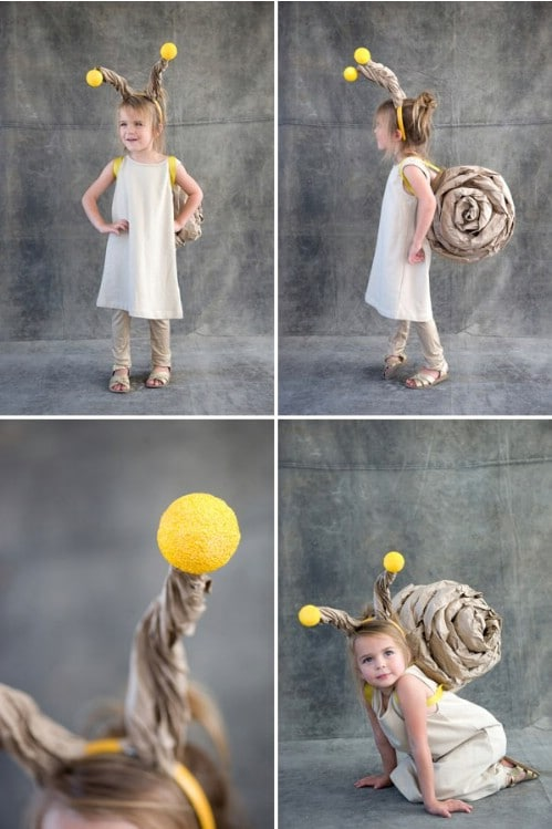 Easy Paper Snail Costume