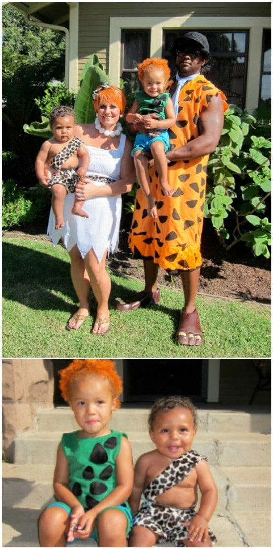 DIY Flintstones Family Costumes