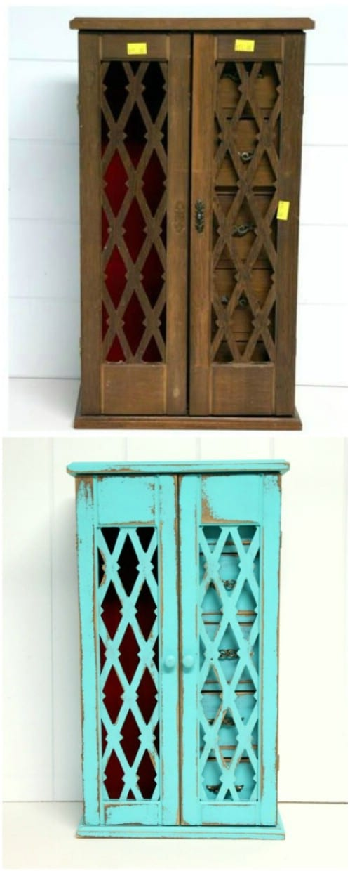Spruce up your jewelry box with some aqua, teal, or turquoise.