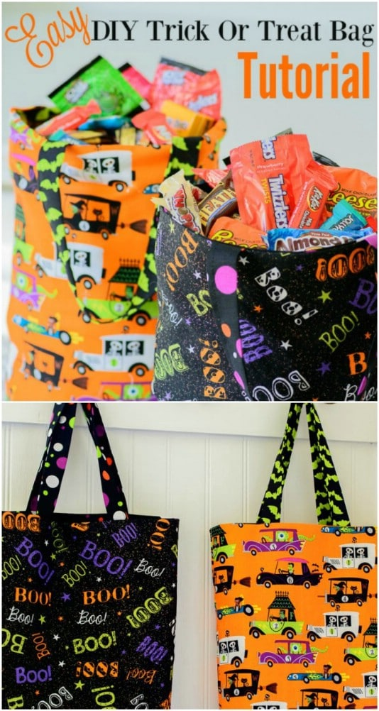 Easy Trick-Or-Treat Bag