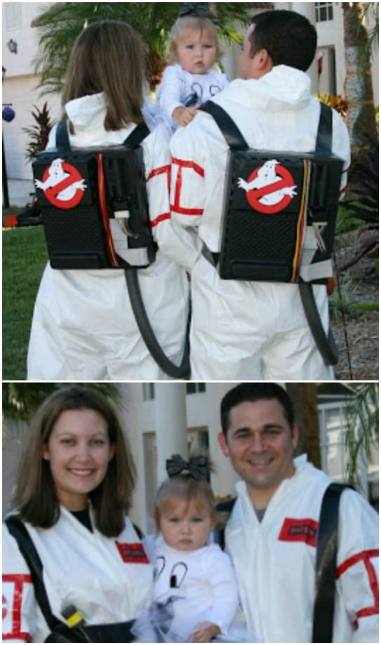 Cheap DIY Ghostbusters Costumes