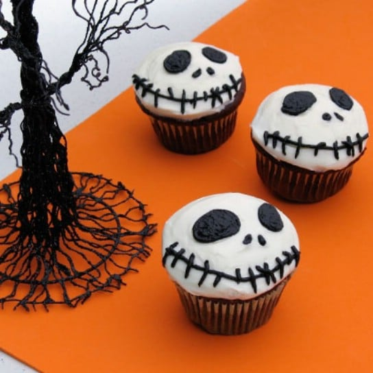 DIY Jack Skellington Cupcakes