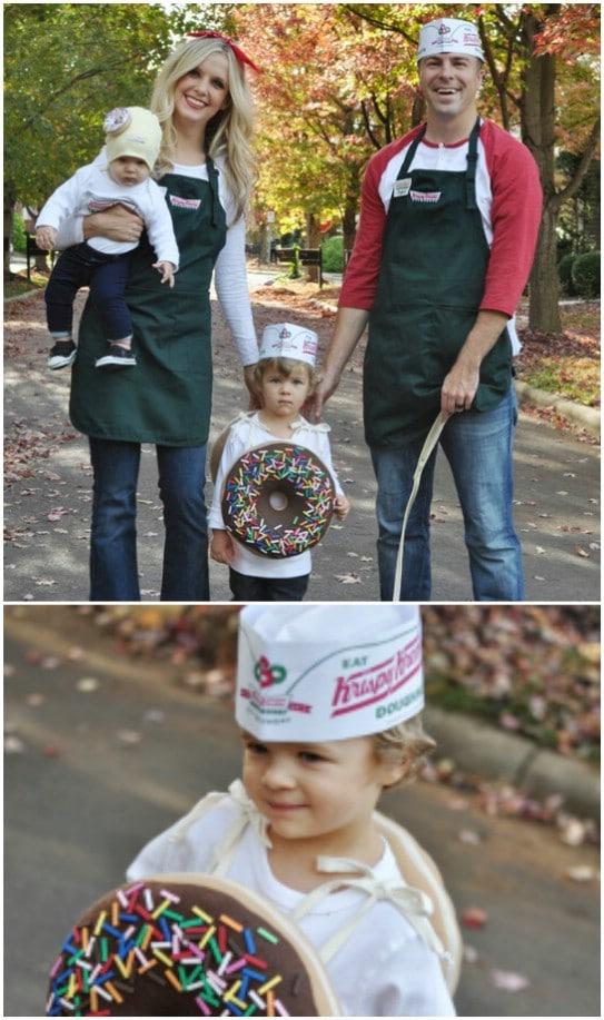 Homemade Krispy Kreme Donut Family