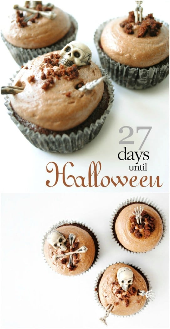 Fabulously Scary Living Dead Cupcakes