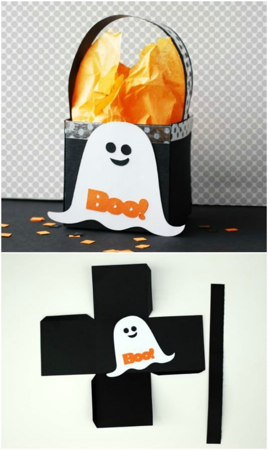DIY Ghost Treat Box