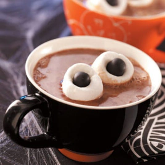 Hot Chocolate With Ogre Eyes