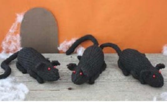 One Skein Knit Rats