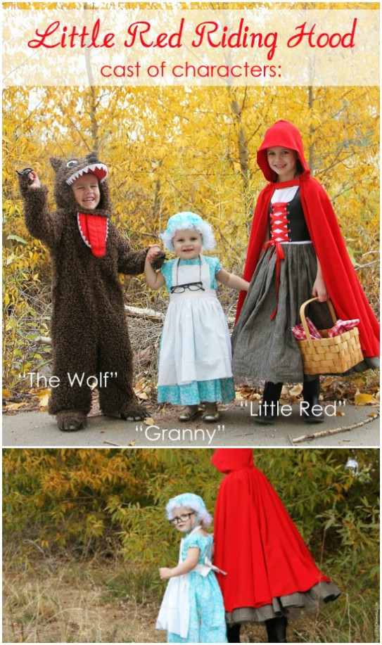 DIY Little Red Riding Hood Costumes
