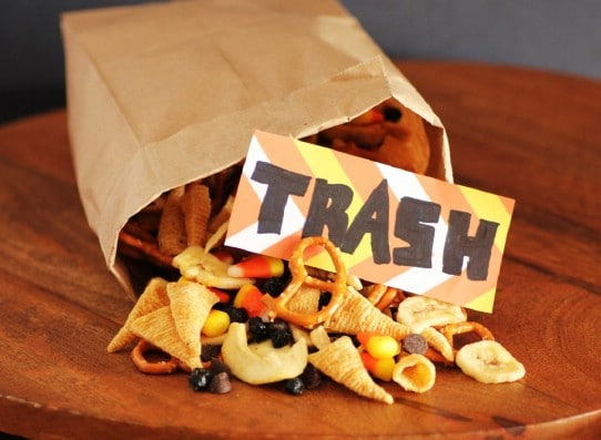 Halloween Trash Trail Mix