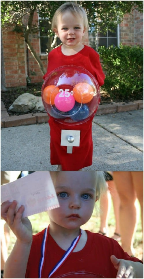 Adorable And Easy Gumball Machine