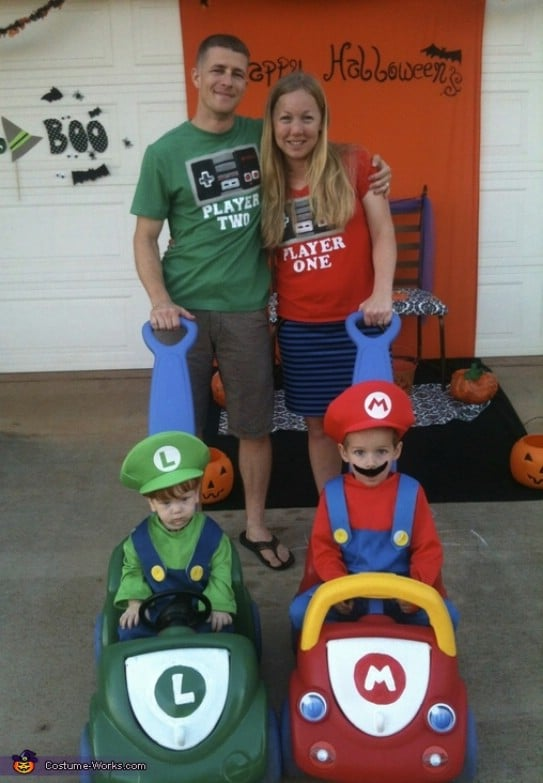 Mario Kart Family Fun Costumes
