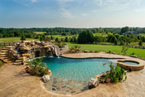 This Pool is Flat-Out Gorgeous