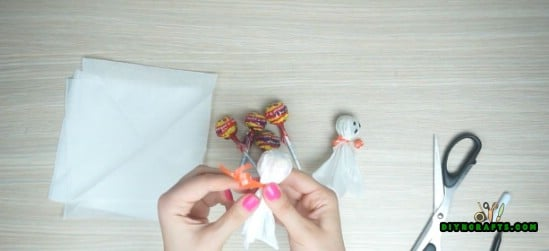 Ghost Popsicles - How to Make 5 Spooky Halloween Decorations Out of Simple, Cheap Supplies