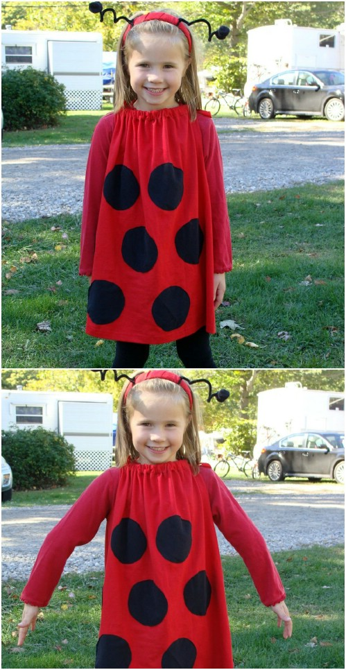 Super Quick And Easy Ladybug Costume