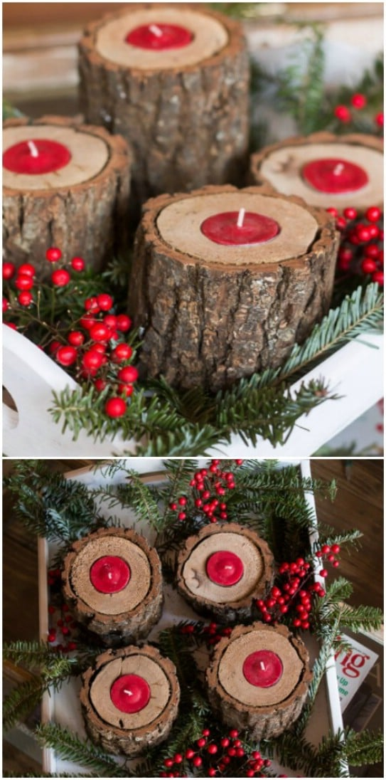 Wooden Christmas Decorations.25 Reclaimed Wood Christmas Decorations To Add Rustic Charm