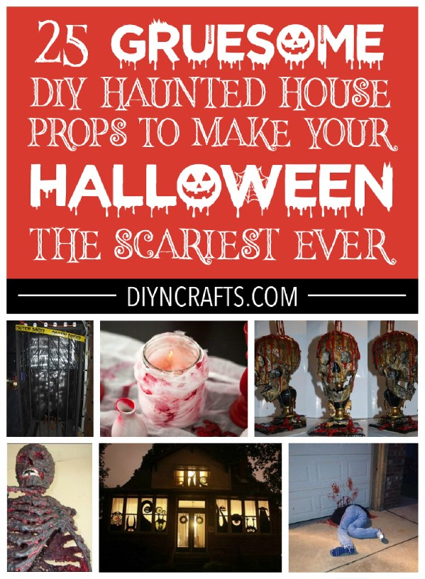 Haunted house projects for Halloween.