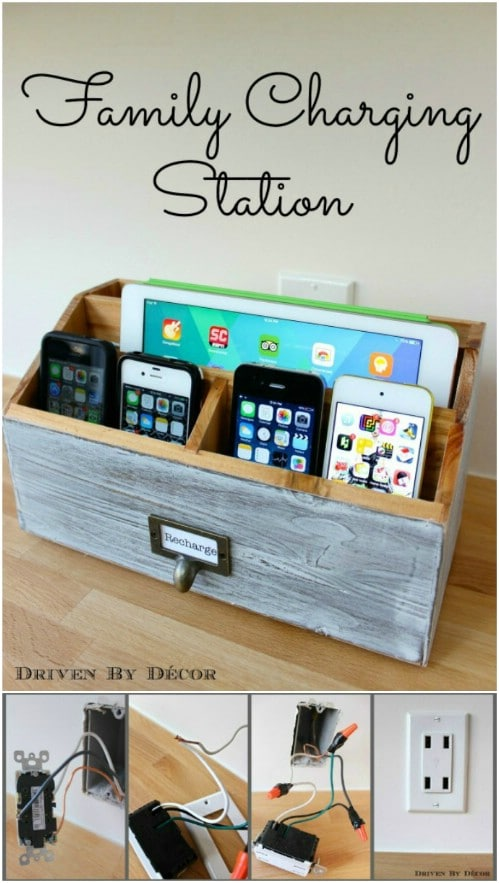 Make a charging station for your entire family.