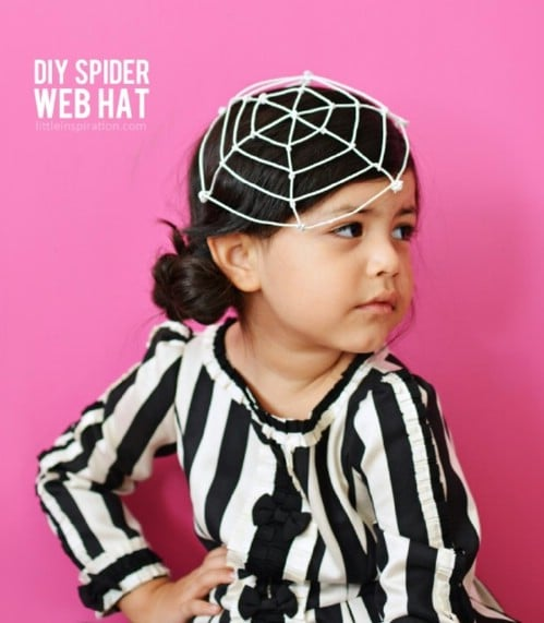 Easy Spider Web Costume
