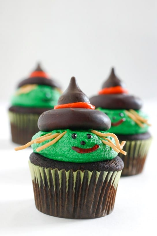 Whimsical Witch Cupcakes