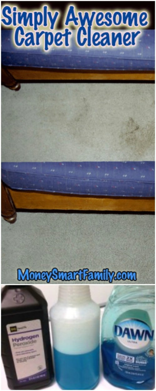 Effective Homemade Carpet Stain Remover