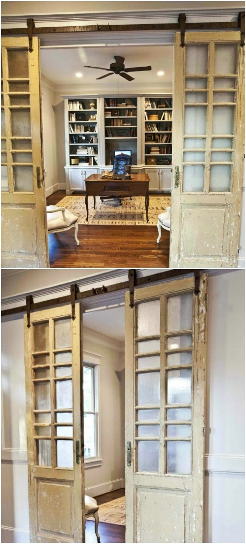 Farmhouse French Style Sliding Doors