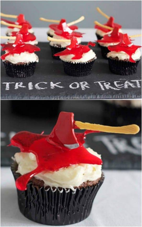 Ax Murderer Cupcakes