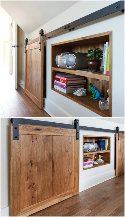 Sliding Door for Storage Space