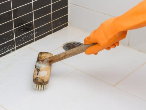 Easy DIY Floor Grout Cleaner