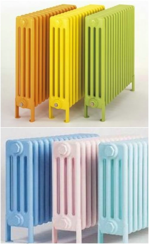 You can even paint your radiator in ombre.