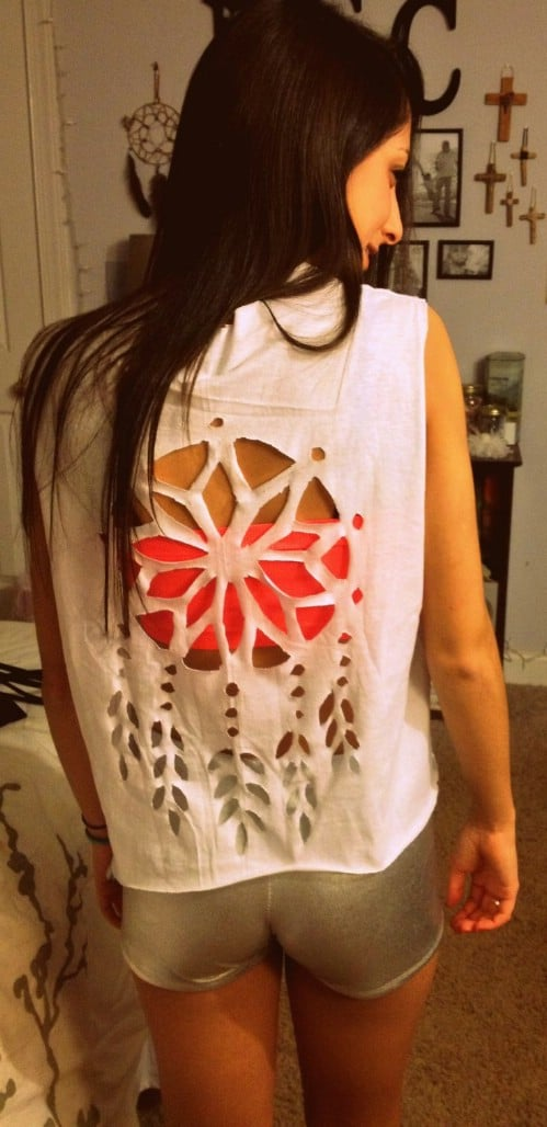 Make a dream catcher design.