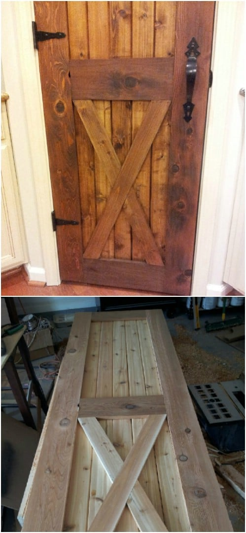 Another Beautiful Barn Door with Hinges