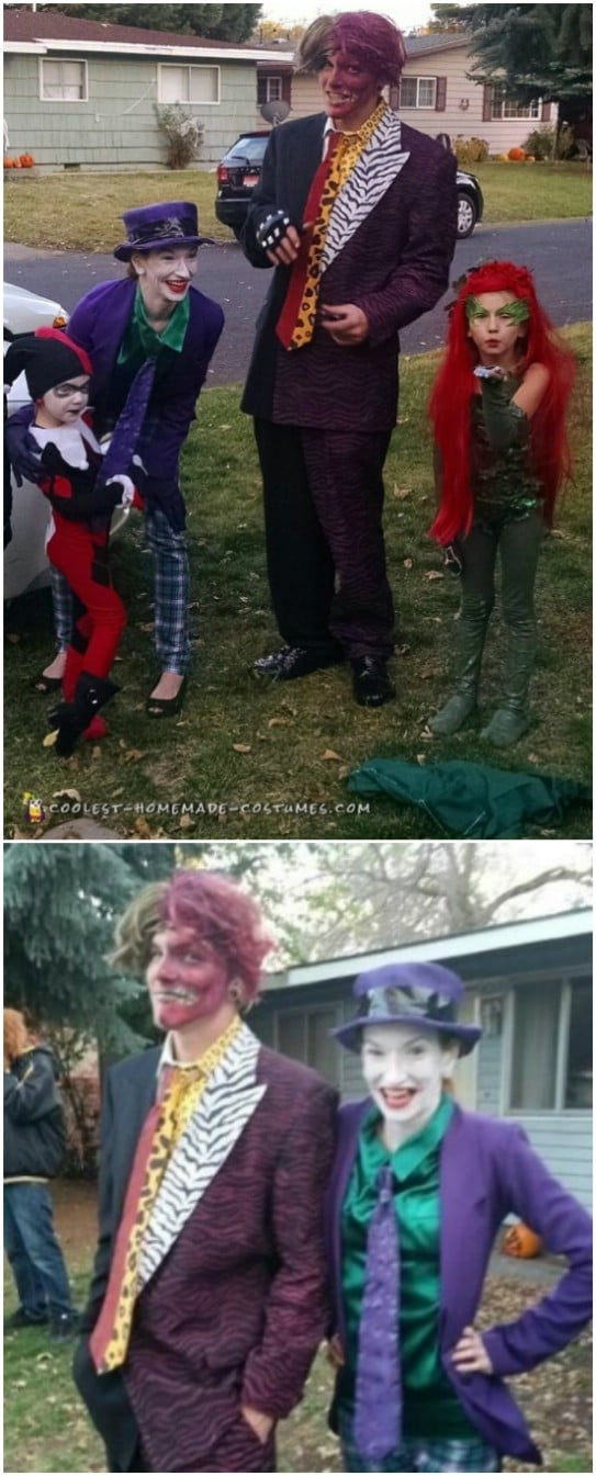 DIY Family Batman Villains