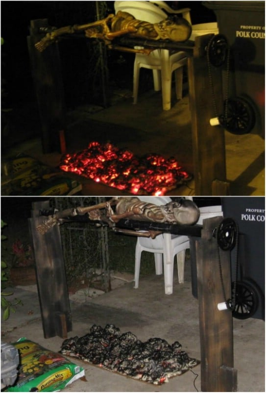 Cheap And Easy Burning Coals Prop
