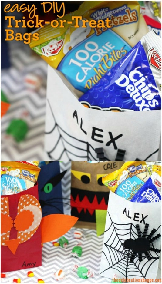 30 Diy Trick Or Treat Bags You Can Make Easily For Halloween