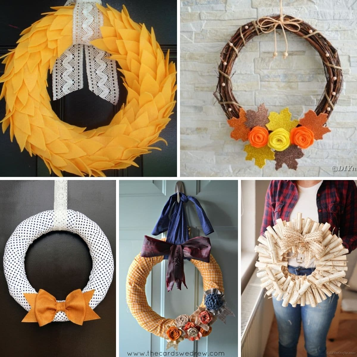 40 Diy Fall Wreaths Perfect For Decorating Your Front Door
