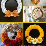 Fall Wreaths collage