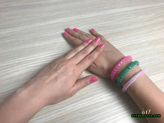 Bracelet - 5 Amazing Straw Projects In Just 4 Minutes