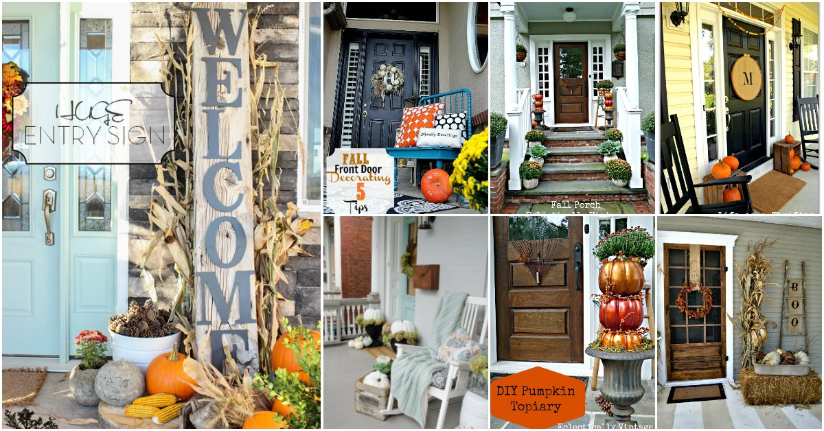 25 Fall Porch Decorating Ideas To Make Your Home The Envy Of ...