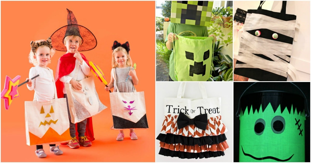 153fc1dae 30 Easy And Cheap DIY Trick-Or-Treat Bags That Make Halloween Fun And Frugal