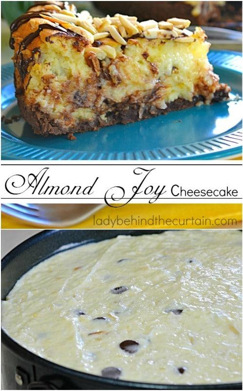 DIY Almond Joy Cheesecake