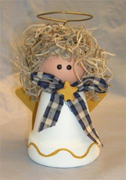DIY Clay Pot Angel