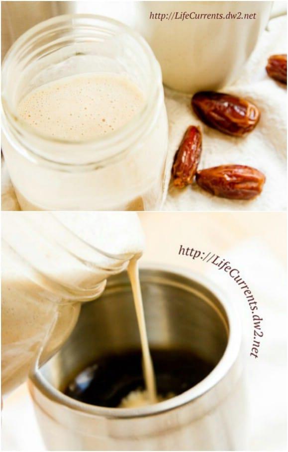Homemade Coconut Milk Creamer