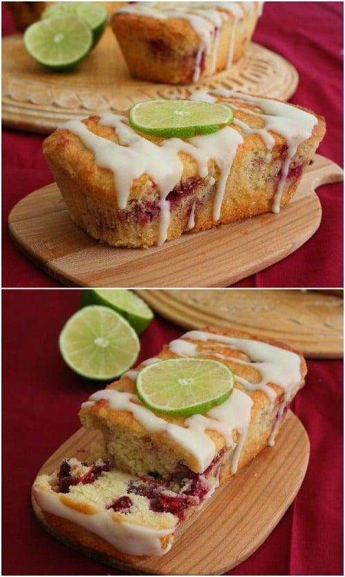 Cranberry Lime Loaf