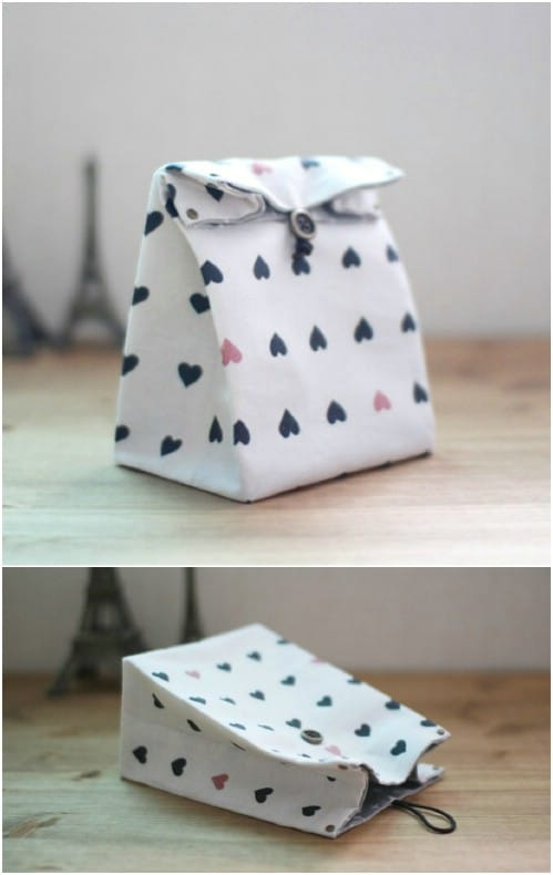 DIY Fabric Gift Bag