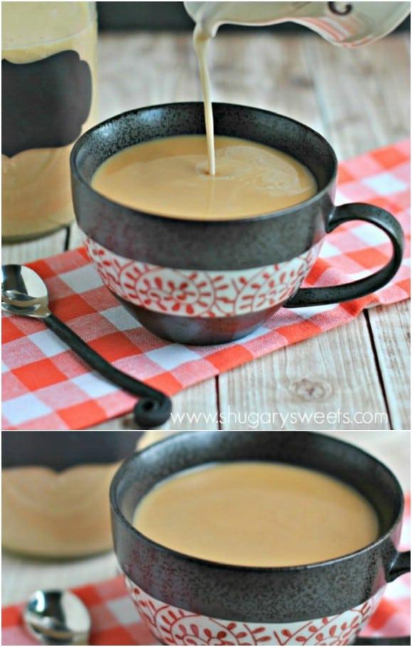 Crème Brule Homemade Creamer